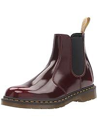 Dr. Martens 男式 2976 Cambridge Brush Chelsea 靴 Vegan