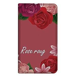 智能手机壳 手册式 对应全部机型 薄型印刷手册 cw-251top 套 手册 玫瑰红 超薄 轻量 UV印刷 壳WN-PR130069-M Disney Mobile on SoftBank DM014SH B款