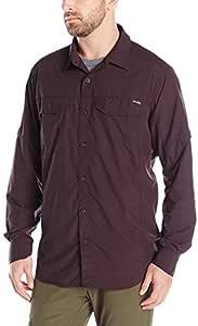 Columbia 男式银 Ridge 长袖衬衫