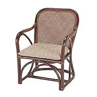 本枝藤 扶手椅 米色 宽56×深59.5×高70cm 扶手椅 A-27CN-卡萨普莱因