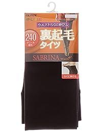 [郡是] 紧身裤 SABRINA Warm + 内部起毛连裤袜 240丹尼尔 SB87 女士