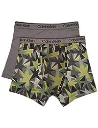 Calvin Klein 男士 2 件套性能平角内裤