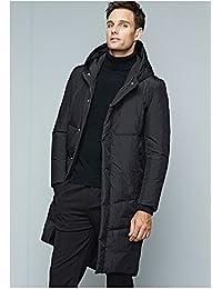 普斯特 羽绒服男长款大衣外套 男士羽绒服连帽冬季羽绒服外套