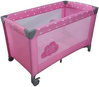 Olmitos 基础云朵旅行婴儿床 粉红色 L