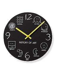 历史的艺术壁钟10英寸 MOMA 独特