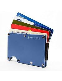 RFID - 超薄极简主义卡夹/信用卡及更多旅行钱包