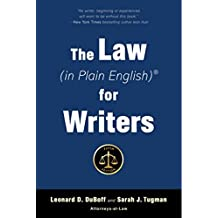 The Law (in Plain English) for Writers (Fifth Edition) (English Edition)