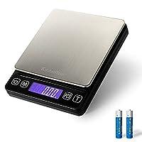 电子电子邮箱秤 – 0.01g/500g 小型便携式电子秤带背光液晶显示屏(含电池)