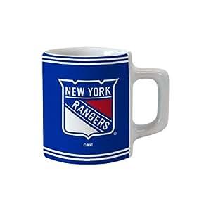 Boelter Brands NHL New York Rangers 升华迷你马克杯,2 盎司