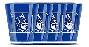Duck House NCAA Duke Blue Devils 绝缘亚克力球玻璃 4 件套