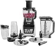Ninja 食物处理器[BL682UK2],Auto-iQ,1500 W,黑色,银色