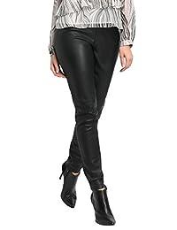 apart 时尚女式 taupe-black-print 裤子