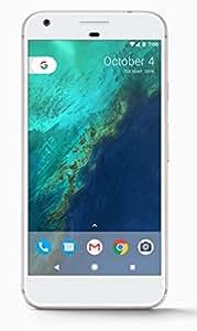 谷歌 Pixel XL (128GB, 4GB RAM) 5.5 英寸 AMOLED 高清显示屏,全球 4G LTE,美国工厂未锁型号(GSM、Verizon、Sprint) - 银色