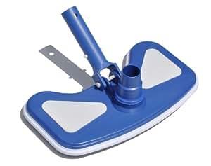 Hydro Tools 8130 加重蝴蝶泳池真空头 1-包每包 1 条 白色 8130