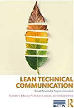Lean Technical Communication: Toward Sustainable Program Innovation (ATTW Series in Technical and Professional Communicati...
