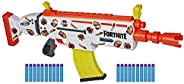 NERF Fortnite AR-Durrr 汉堡电动玩具枪 - 定制贴纸 棕色/A