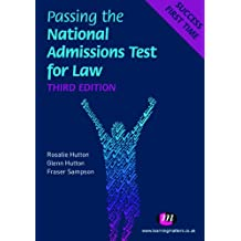 Passing the National Admissions Test for Law (LNAT) (Student Guides to University Entrance Series Book 1593) (English Edition)