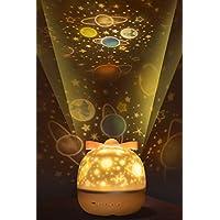 Simptech 儿童夜灯投影机,儿童卧室星夜灯灯,适合送给儿童的理想礼物