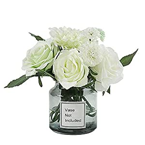 Lehome 婴儿* /Gypsophila 婚礼装饰白色真实触感 PU 花 Bouquet Green Bouquet-style2