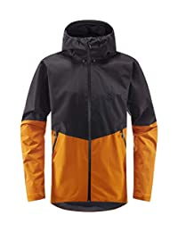 Hagl?fs 男士戶外夾克 Merak 防水,防風,透氣