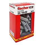 Fischer 542442 左侧帮助,灰色,10 x 50 毫米,一套 50 个