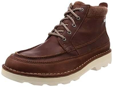 Clarks 男 Korik Rise GTX生活休闲鞋261381947060 棕色 39.5