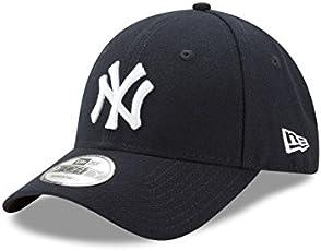 New Era男士MLB Basic NY Yankees 9Forty可调节棒球帽