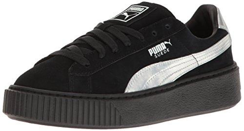 PUMAWomensSuedePlatformExplosBwnsFashionSneaker