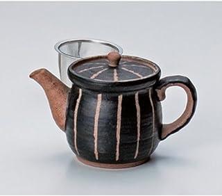 罐 雕刻石(黑色) 盆子(小)(附赠胺) [365cc] 土物 强化 和食器 *器 日式*馆 旅馆 业务用