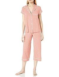 Eberjey 女式短袖短款睡衣套装