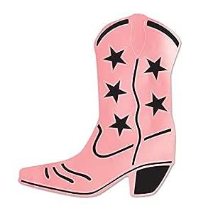 Foil 牛仔靴轮廓 粉红色 55472-Ppk1