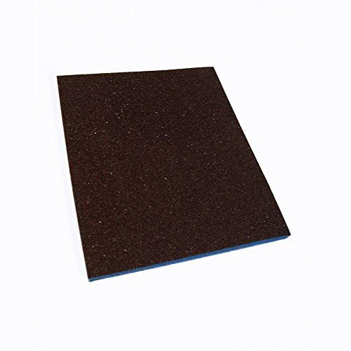 "Webb Abrasives 310039 Detail Pad Sanding Sponges, Fine Grit (24 Pack), 4 1/4"" X 5 1/4"" X 1/4"""