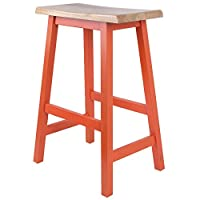 房间和房间 Robinwood凳 43 X 32 X 61cm 橙色 43 X 32 X 61cm -