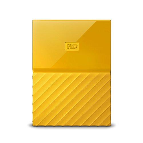 WD 西部数据 My Passport WDBYFT0020BYL 移动硬盘 2TB 黄色