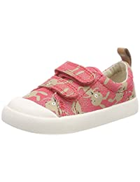 Clarks 中性童 Halcy Hati 运动鞋