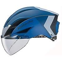 OGK KABUTO 头盔 AERO-R1 (AERO-R1) 颜色:G-2亚光*蓝 尺寸:S/M(头围:55~58cm)