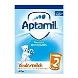 (跨境自营)(包税) Aptamil 德国爱他美儿童配方奶粉2+段纸盒装600g(两周岁及以上)(包装更替随机发货)