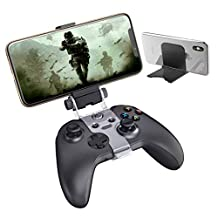 Xbox One 控制器 Stream Play 支架夹,OIVO Xbox 控制器手机支架夹带可调节支架,兼容 Xbox One、Xbox One S、Xbox One X