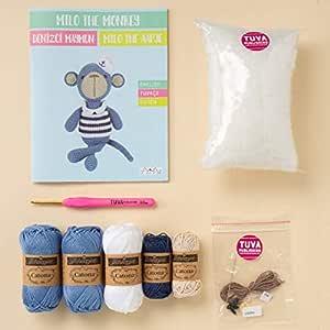 Tuva Crochet Amigurumi 套装 深蓝色 TuvaAK