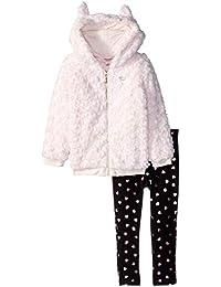 Juicy Couture 女童 2 件套夹克套装 - 人造毛皮