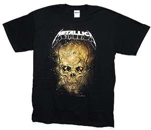 原版周边 Metallica:Skull Explosion(男式 S号 黑色)