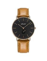 A.B.ART 爱彼雅 瑞士品牌 FR系列 石英男士手表 FR41-015-3L(亚马逊自营商品, 由供应商配送)