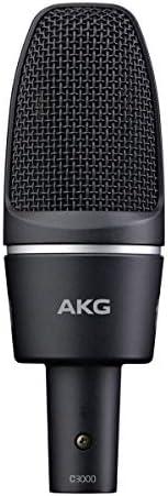 AKG C3000 电容麦克风