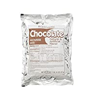 Chef's Companion Mousse Mixes Chocolate Non-pho, 30 Ounce (Pack of 8)
