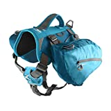 Kurgo 狗狗背包适合远足、散步或露营 海岸蓝(Coastal Blue) 50-110 lbs