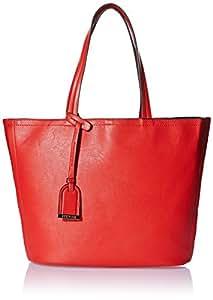 Kenneth Cole Reaction 女式 Clean Slate购物袋 K11481/B10 火焰红 均码(亚马逊进口直采,美国品牌)
