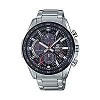 Casio 卡西欧 男式 Edifice 石英手表不锈钢表带,银色,22 (型号:EQS-900DB-1AVCR)