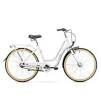 Romet GROM 3S 徒步自行车 26 英寸 徒步自行车 十字架 自行车 自行车 Shimano 3 走廊铝框