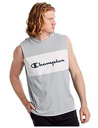 Champion 男式运动风格拼色肌肉