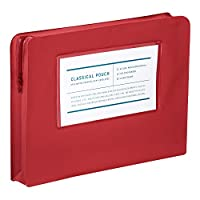 KOKUYO 国誉 古典 化妆包 A4盒 A4 红色